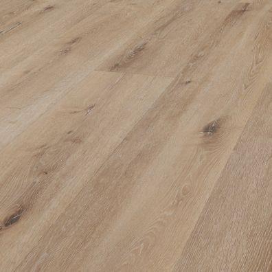 SPC Vinylboden mit integrierter Trittschalldämmung - Dekor: Weißeiche