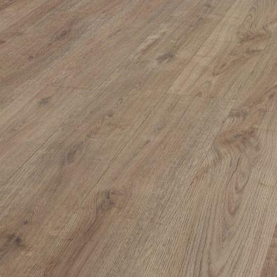 SPC Vinylboden mit integrierter Trittschalldämmung - Dekor: Raucheiche