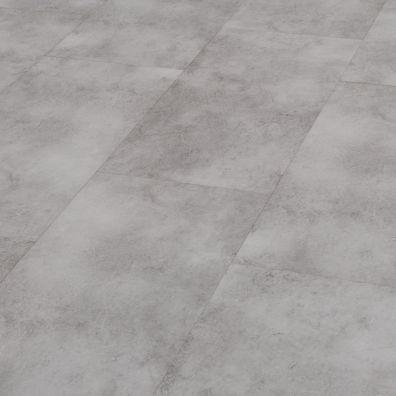 SPC Vinylboden mit integrierter Trittschalldämmung - Dekor: Granit