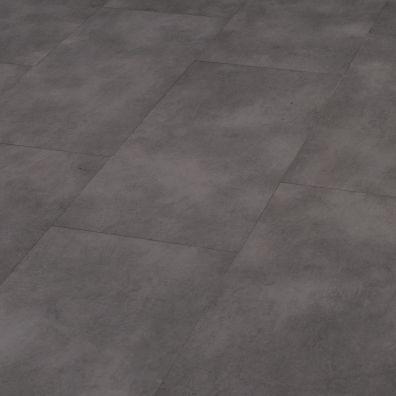 SPC Vinylboden mit integrierter Trittschalldämmung - Dekor: Anthrazit