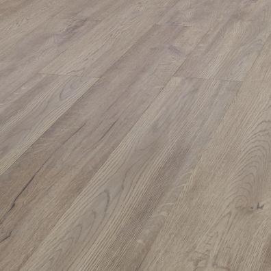 SPC Vinylboden mit integrierter Trittschalldämmung - Dekor: Antikeiche